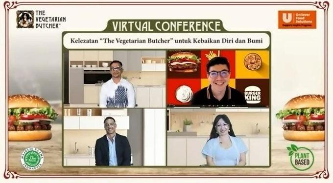 """Menyusul Tren Global, Foodizz Ikut Serta dalam Virtual Conference """"The Vegetarian Butcher"""" dari Unilever Food Solutions"""