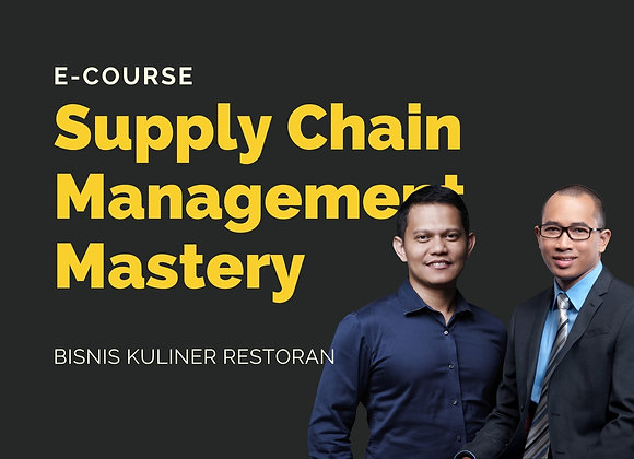 [E-COURSE] Supply Chain Management Mastery