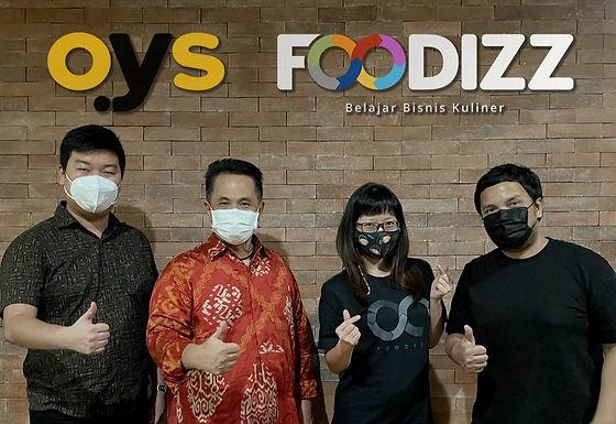Kolaborasi Foodizz dan OYS Berikan Solusi Pebisnis Kuliner Pasca Pandemi