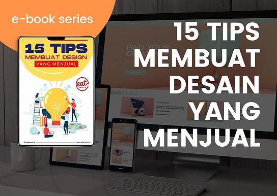 [E-BOOK] 15 Tips Membuat Desain yang Menjual