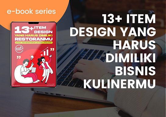 [E-BOOK] 13+ Item Design yang harus dimiliki Bisnis Kuliner