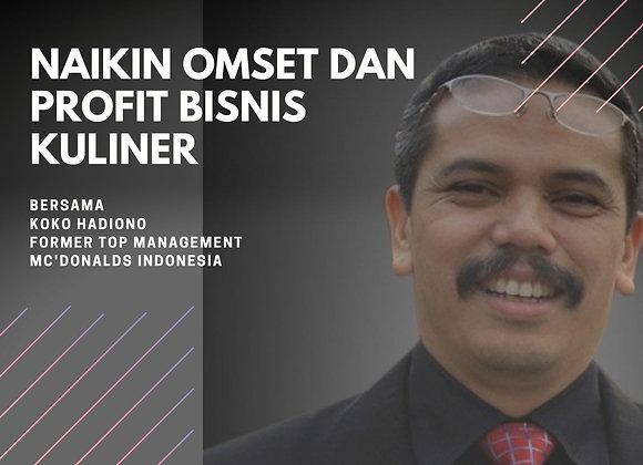 [E-COURSE] Naikin Omset dan Profit Bisnis Kuliner