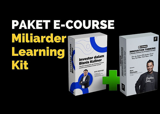 [E-COURSE] Paket E-Course Miliarder Learning Kit