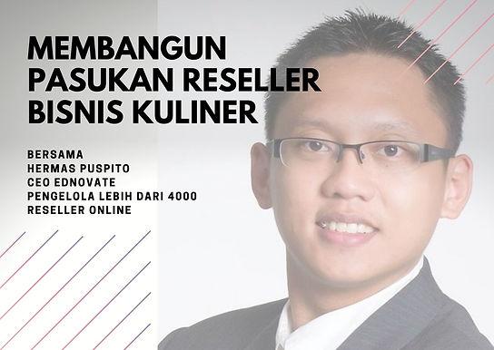 [E-COURSE] Membangun Pasukan Reseller dalam Bisnis Kuliner