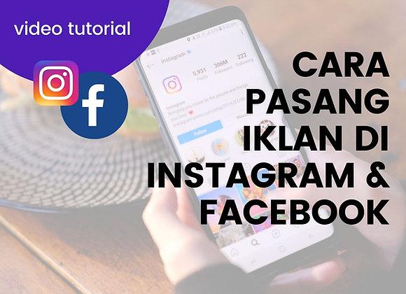 [VIDEO TUTORIAL] Cara Pasang Iklan di Instagram dan Facebook