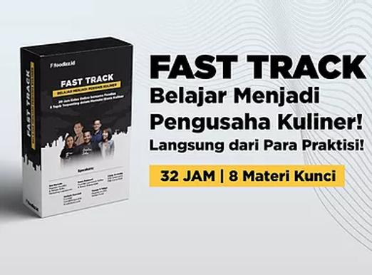 [E-COURSE] Paket Fast Track - Memulai Bisnis Kuliner 32 Jam 8 Modul Terpenting