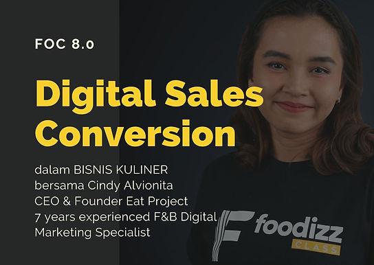 [E-COURSE] Sales melalui Media Online - Digital Sales Conversion