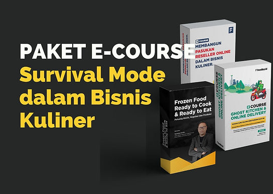 [E-COURSE] Paket E-Course Survival Mode Bisnis Kuliner