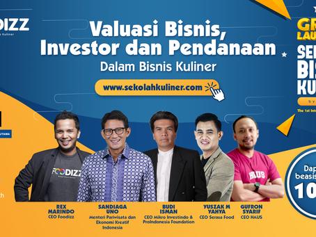 Peluncuran Sekolah Bisnis Kuliner, Bentuk Serius Foodizz Mendukung Kemajuan Bisnis Kuliner Indonesia