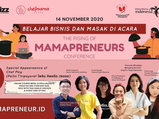 "Foodizz & Chefmama hadirkan ""The Rising of Mamapreneur Conference"""