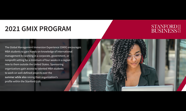 Foodizz Berkolaborasi dengan Stanford Graduated School of Business Dalam Program GMIX