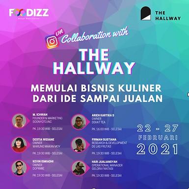 Foodizz x The Hallway : Memulai Bisnis Kuliner dari Ide Sampai Jualan