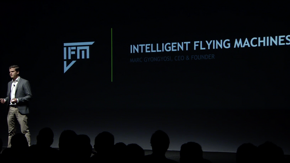 Marc presents IFM during Keynote at NVIDIA GTC DC 2017