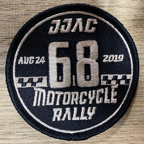 2019 Motorcycle Rally Patch