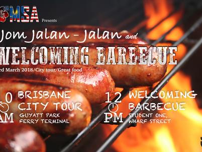 Jom Jalan-Jalan and Welcoming BBQ Sem 1 2018
