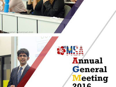 UQMSA Annual General Meeting 2016 - Application for incoming committee team NOW OPEN!