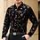 Thumbnail: Long Sleeve Black Shirt Brand Mens Clothing Big Size 3XL 50 % Off рубашка