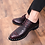 Thumbnail: Fashion Bright Business Shoes Casual for Wedding Lace Shoe Male Suit Shoes