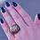 Thumbnail: Fabulous Rustic Dome Flattened Pebble Ring