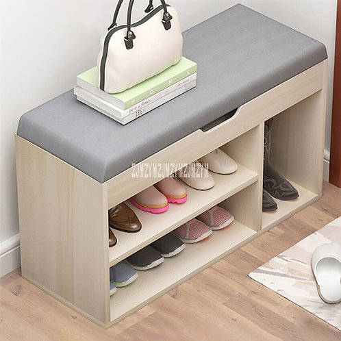 Simple Change Shoe Bench Modern Shoes Organizer With Drawer Shoes Cabinet
