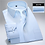 Thumbnail: Long Sleeve Dress Shirts for Men Solid Twill Striped White Mens Clothes