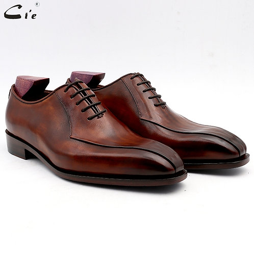 Men Office Shoe Genuine  Leather Outsole Men Suits Formal Leather Handmade No.8