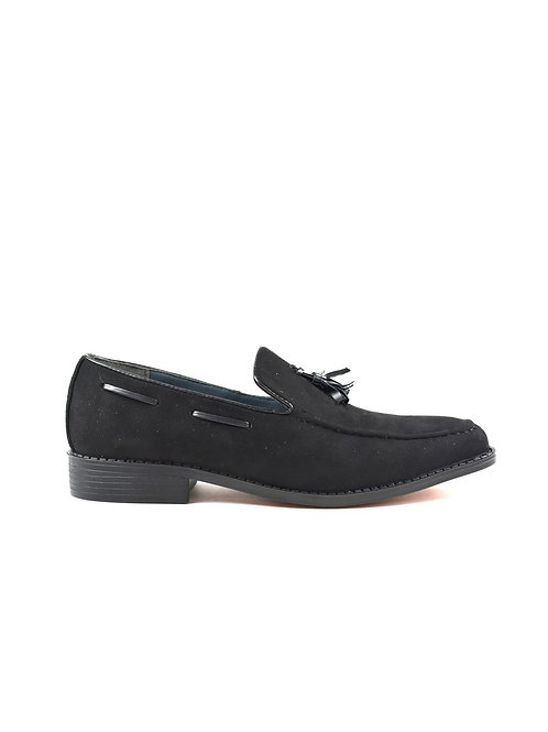 Men's Tassel Shoes Black