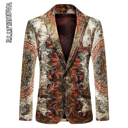 Slim Fit Winter Jacket Party Wedding Jacket Coat Stage Clothers Big Size M-4xl