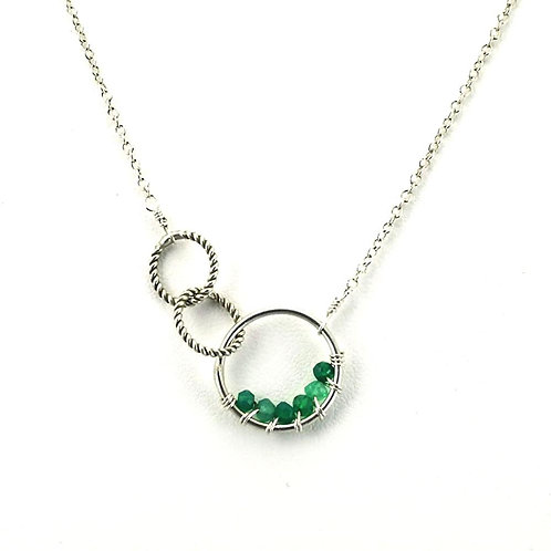 'Twisted Links' Necklace