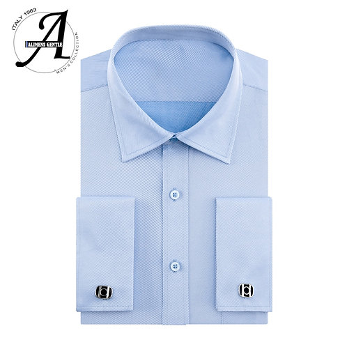 Shirts Brand Camisa Masculina Long Sleeve French Cuff Dress Shirts for Men