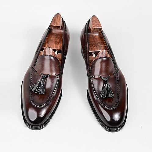 Genuine Handmade Office Formal Wedding Party Leisure Brand Shoes Loafer Mens