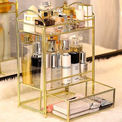 Cosmetic Storage Display Drawer Box Case Stand Rack Holder Organizer Shelf