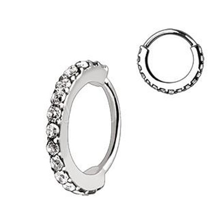 316L Stainless Steel Multi-Jeweled Annealed Seamless Ring