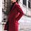 Thumbnail: Mens Slim Fit Mid Length Overcoat