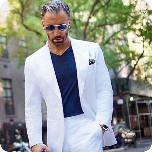 Men Casual Groom Tuxedo Classic Costume Mariage Homme Custom Made Blazer
