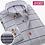 Thumbnail: Formal Brand Clothing Business Shirts Dress Slim Fit Men Camisas Masculina