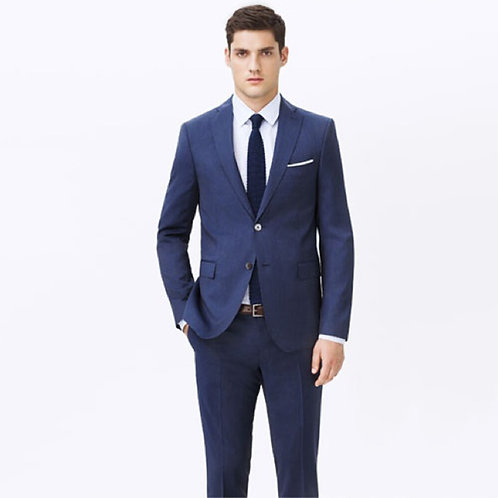 Men,Blue Suits, BESPOKE  Wedding Tuxedos(Jacket+Pants+Tie+P Square)13102101