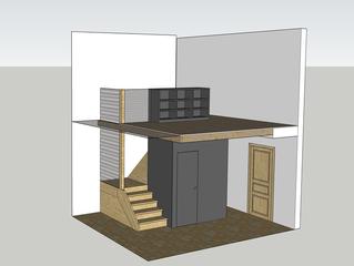 Très beau projet aménagement d'un hall d'entrée à Amay