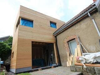 Nouvelle extension en ossature bois