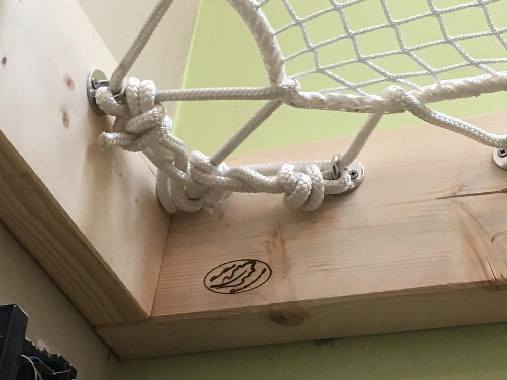 Filet trampoline mezzanine