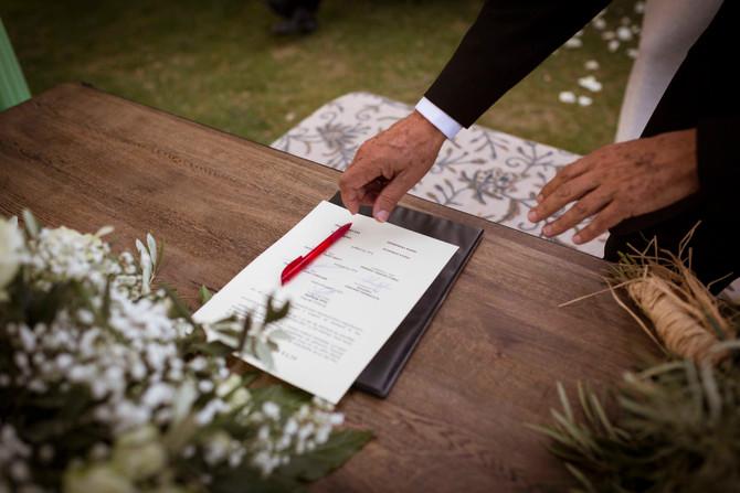 Trámites para bodas religiosas y civiles