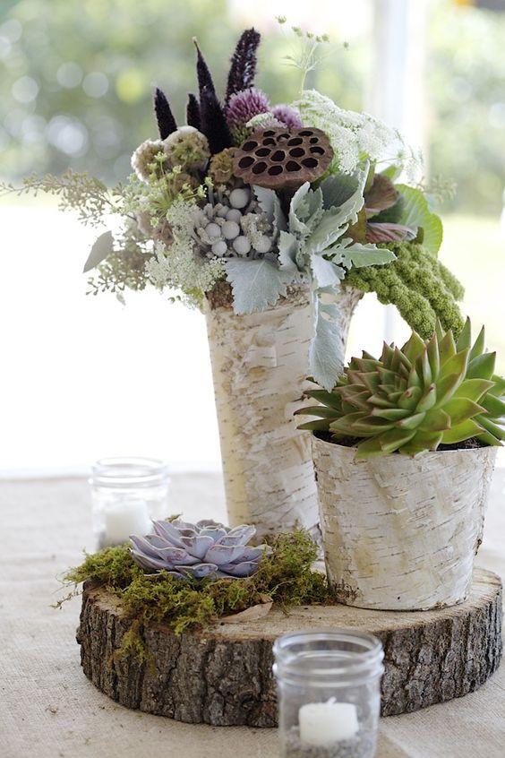 decoración flores bodas, centros de flores boda, flores para bodas,centro de boda suculentas, centro de flores suculentas, deco flores