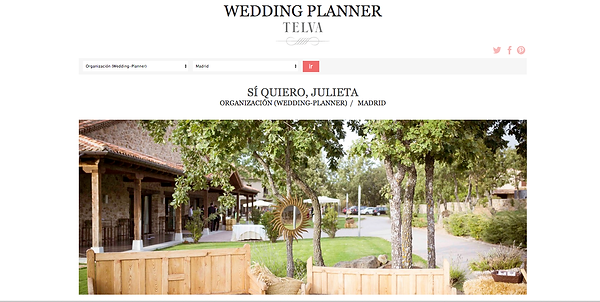 wedding planner madrid, organizacion bodas madrid