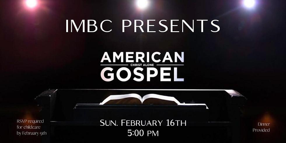 Movie Night American Gospel Christ Alone