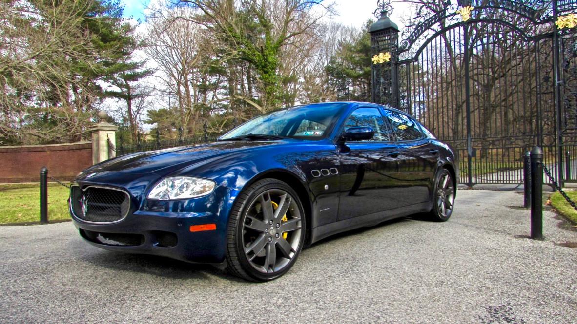 2008 Maserati Quattroporte GTS
