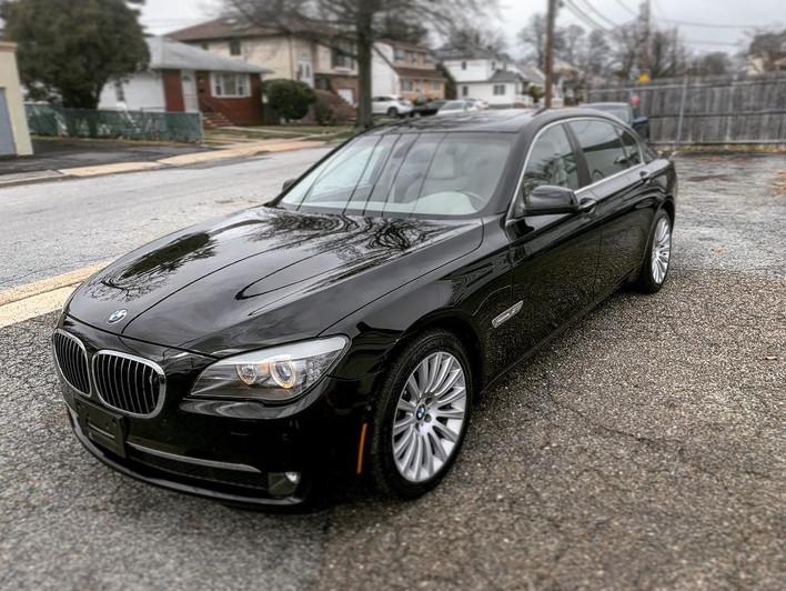 SOLD. 2010 BMW 750li