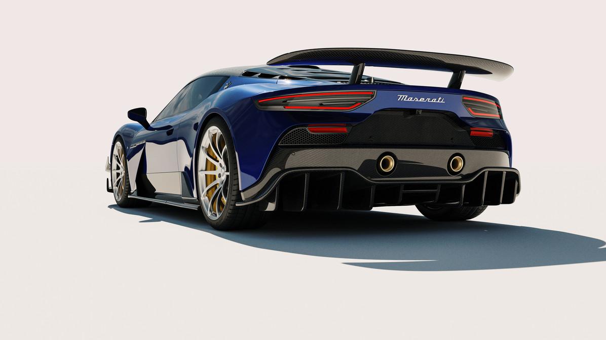Maserati MC20 ARIA Carbon Aero kit by 7 Designs