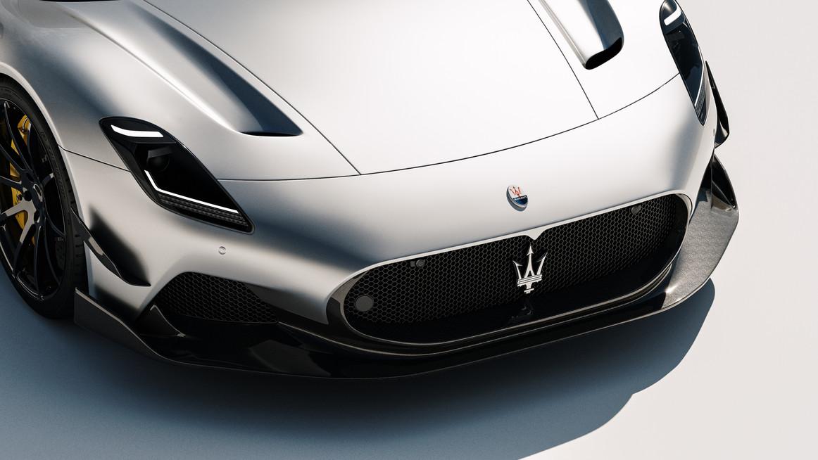 Maserati MC20 Carbon fiber splitter