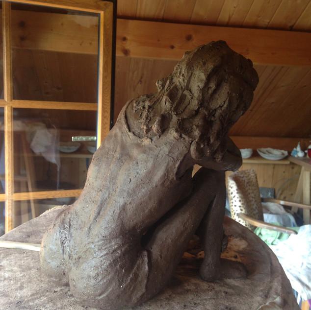 sculpture raku céramique haut jura sigillée