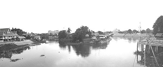 แม่น้ำลพบุรี  จังหวัดลพบุรี